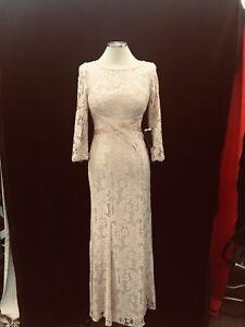 Blush Mother of Bride Dress