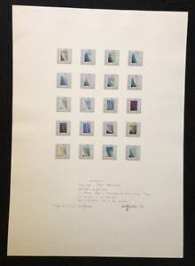 Wolf-Kahlen-Angleichung-V-Offsetdruck-1974-handsigniert-und-datiert