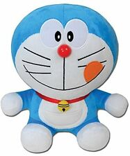 """*NEW* Doraemon: Delicious Smile Face 10"""" Plush by GE Animation"""
