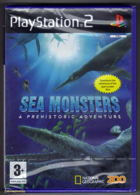 PS2 mostri marini: un'avventura PREISTORICO (2008), Regno Unito PAL, Nuovo & Sigillato in Fabbrica