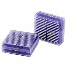 2pcs Silica Gel Desiccant Humidity Moisture Absorb Box Reusable Dehumidifier EE