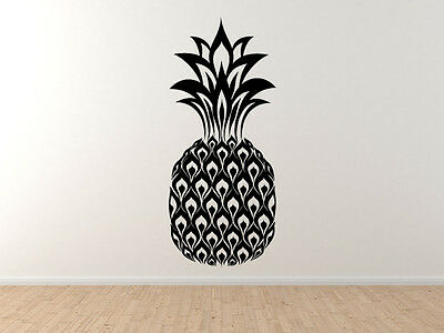 Pineapple Tropical Fruit Decoration Hawaii Cuisine  - Vinyl Wall Decal