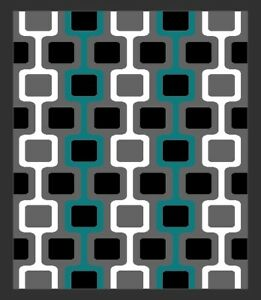 Details About Rima Modern Contemporary Abstract 5x8 5x7 Rug 5716 Turquoise