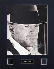 Bruce Willis Signed Film Cell Presentation