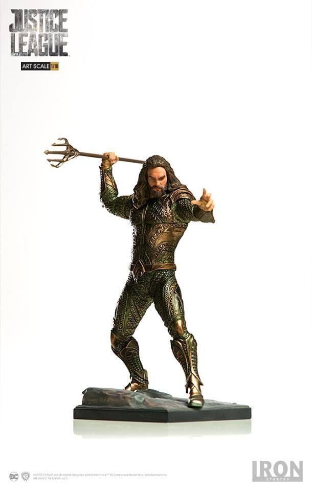 1 10 Aquaman Justice League Art Scale Iron Studios