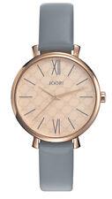 JOOP Classic Sky Grey JP101962003 Damen Armbanduhr Leder braun neu