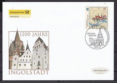 Brd 2006 Deutsche Post Fdc Minr. 2526 1200 Jahre Ingolstadt