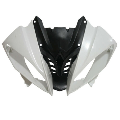 Unpainted Upper Front Fairing Cowl Nose Headlight For Yamaha YZF R6 2008-2016 15