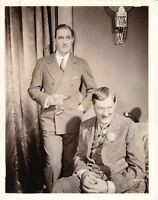 JOHN AND LIONEL BARRYMORE Vintage 1932 GRAND HOTEL MGM HURRELL Portrait Photo