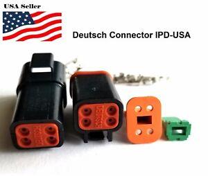 4-Pin-Deutsch-DT04-Engine-Gearbox-waterproof-electrical-connector