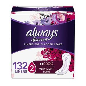 Incontinence-Liners-for-Women-Very-Light-Long-Length-44-Count-Pack-of-3