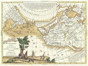 GEOGRAPHY-MAP-ILLUSTRATED-ANTIQUE-ZATTA-CALIFORNIA-POSTER-ART-PRINT-BB4512A