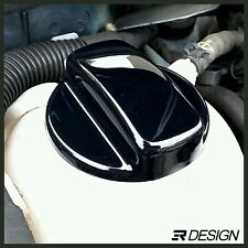 VW GOLF MK4 3 Expansion Tank Cap Cover Seat Leon Transporter T4 - Gloss Black