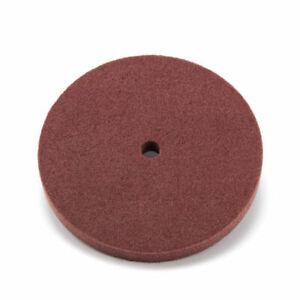 """9P 6/"""" Nylon Fiber Grinding Wheel Polishing Pad Disc Abrasive Tool 5//8/"""" Bore 180#"""