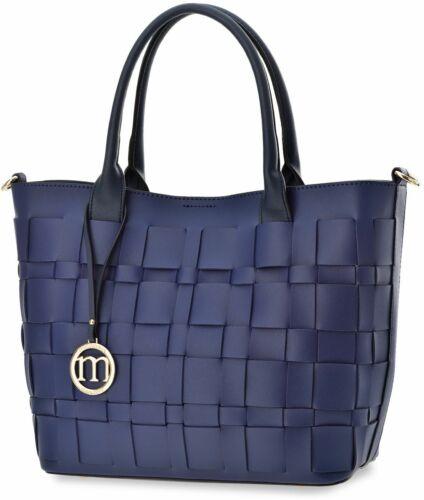 Shopperbag Damentasche Monnari Handtasche Damen Tasche blau