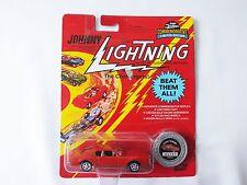 Johnny Lightning The Challengers Custom Toronado red color w/series # 2 coin NIB