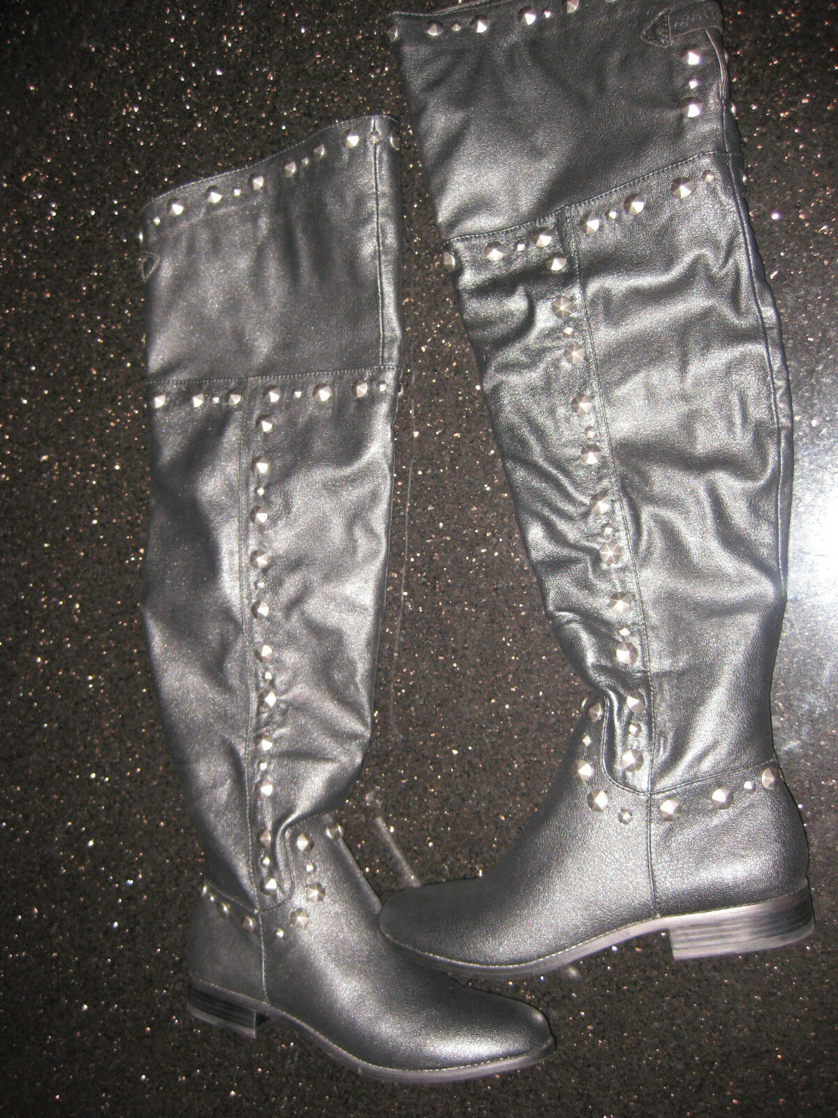 Victoria's Secret Studded Over-the-knee Flat Boot- Colin Stuart®   6