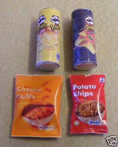 Vivienda Muñecas Miniatura 1//12th escala 6 sacos de alimentos Surtidos D453