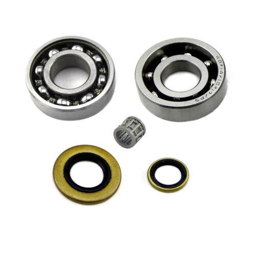Vilebrequin Rainuré Balle Cylindre Piston Roulement Joints d/'huile pour Stihl MS660 066 nouveau