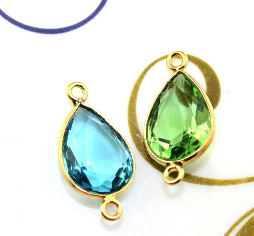 Vente De Quartz calcédoine Lapis Ruby Opalite Gold Miklós Connecteur Paire Bijoux