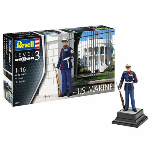 REVELL US Marine 1:16 Figures Model Kit 02804