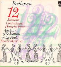Beethoven(Vinyl LP)12 Menuette-Philips-9500 567-65-Ex/Ex