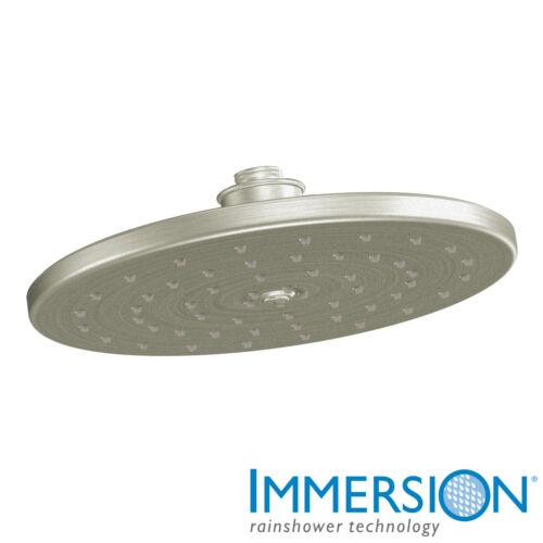 Moen S112 Waterhill 2.5 GPM Single Function Rain Shower Head Nickel