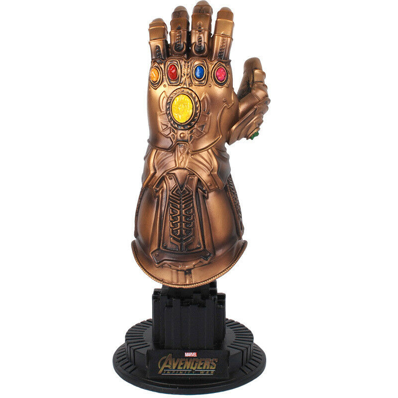 Avengers Infinity War Thanos 1 4 Infinity Gauntlet Collectible Figure Statue Toy