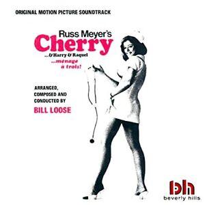 RUSS MEYER - CHERRY & HARRY & RAQUEL - FILM SOUNDTRACK - STEREO LP REISSUE