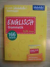 Die Grosse Schulerhilfe Testmappe Englisch Grammatik 5 6 Klasse Regelheft Gunstig Kaufen Ebay