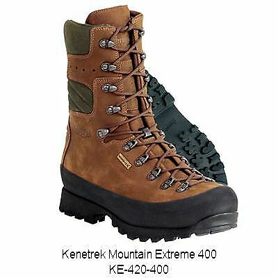 Kenetrek Mountain Extreme 400 Boots, Brown, Insulated   KE-420-400 11.5 NAR