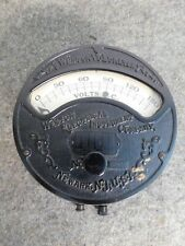 Antique 1901 Weston Electrical Voltmeter