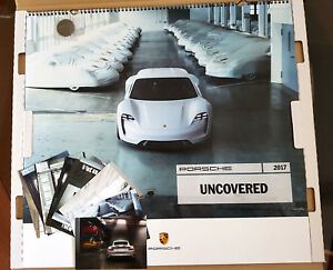 Neuer Porsche Kalender 2017 Uncovered Mit Postkarten Und Mit Münze