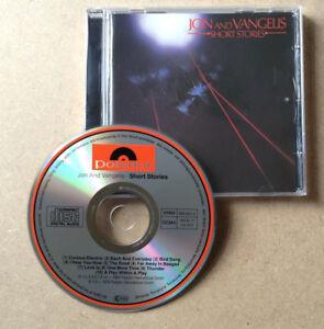 Jon-amp-Vangelis-Short-Stories-RARE-Collector-039-s-Misprint-CD-Album-1980