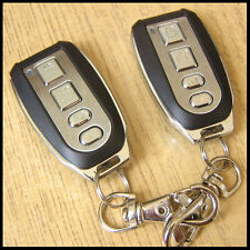 Remote Central Locking Upgrade Kit - UNIVERSAL - Keyless Entry - 2 Remotes Fobs