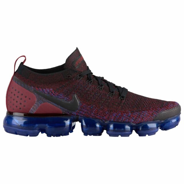 08380ef35a839 Nike Air Vapormax Flyknit 2 Men s Black Black Team Red Racer Blue 42842006