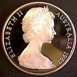 *** 1983 Ten Cent 'Lyrebird' Proof Coin***