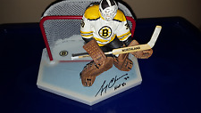 Gerry Cheevers McFarlane Hockey Boston Bruins Variant Repaint Autographed