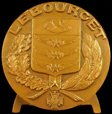 Médaille Blason et armes de la ville du Bourget sc Dubois medal