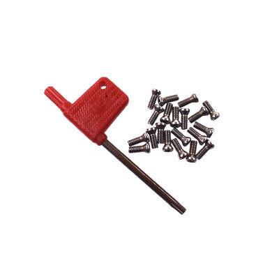 50pcs M3.5 x 10mm Insert Torx Screw for Carbide Inserts Lathe Tool /& Screwdriver