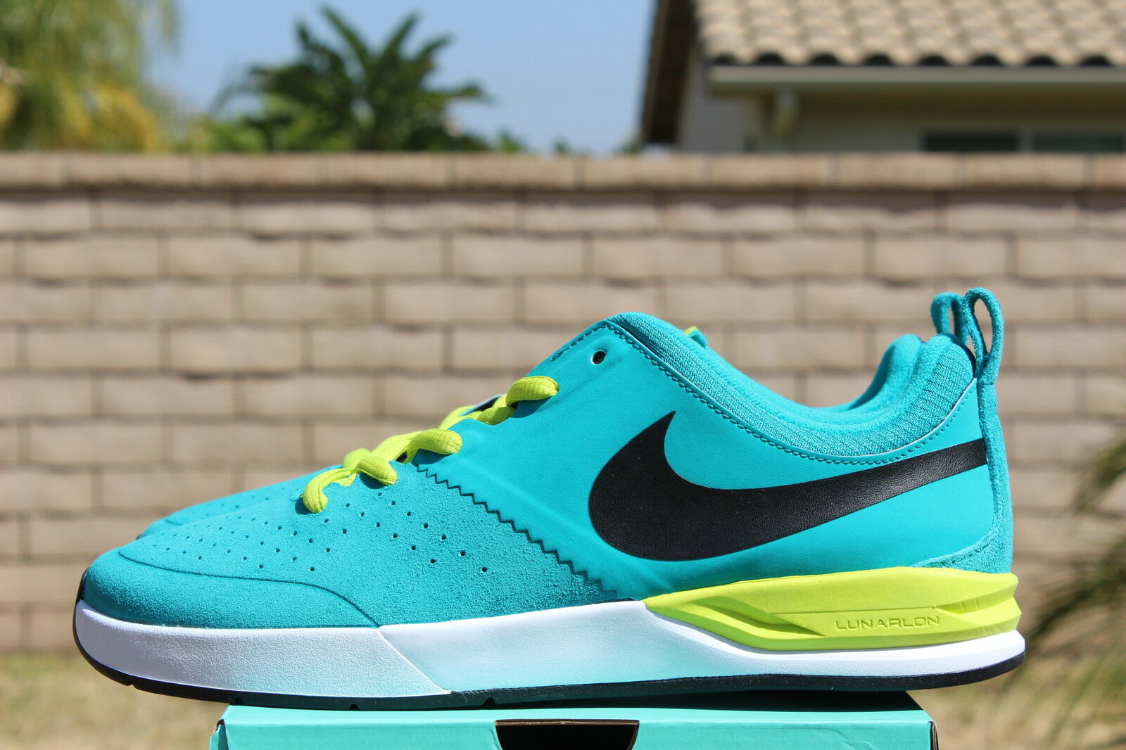 NIKE PROJECT BA SB 8 BRIAN ANDERSON TURBO GREEN WHITE RUST FACTOR 599698 316