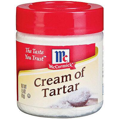 McCormick Cream Of Tartar ~ 1.5 oz.