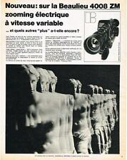 PUBLICITE   1970   BEAULIEU    ZOOMING ELECTRIQUE  4008 ZM