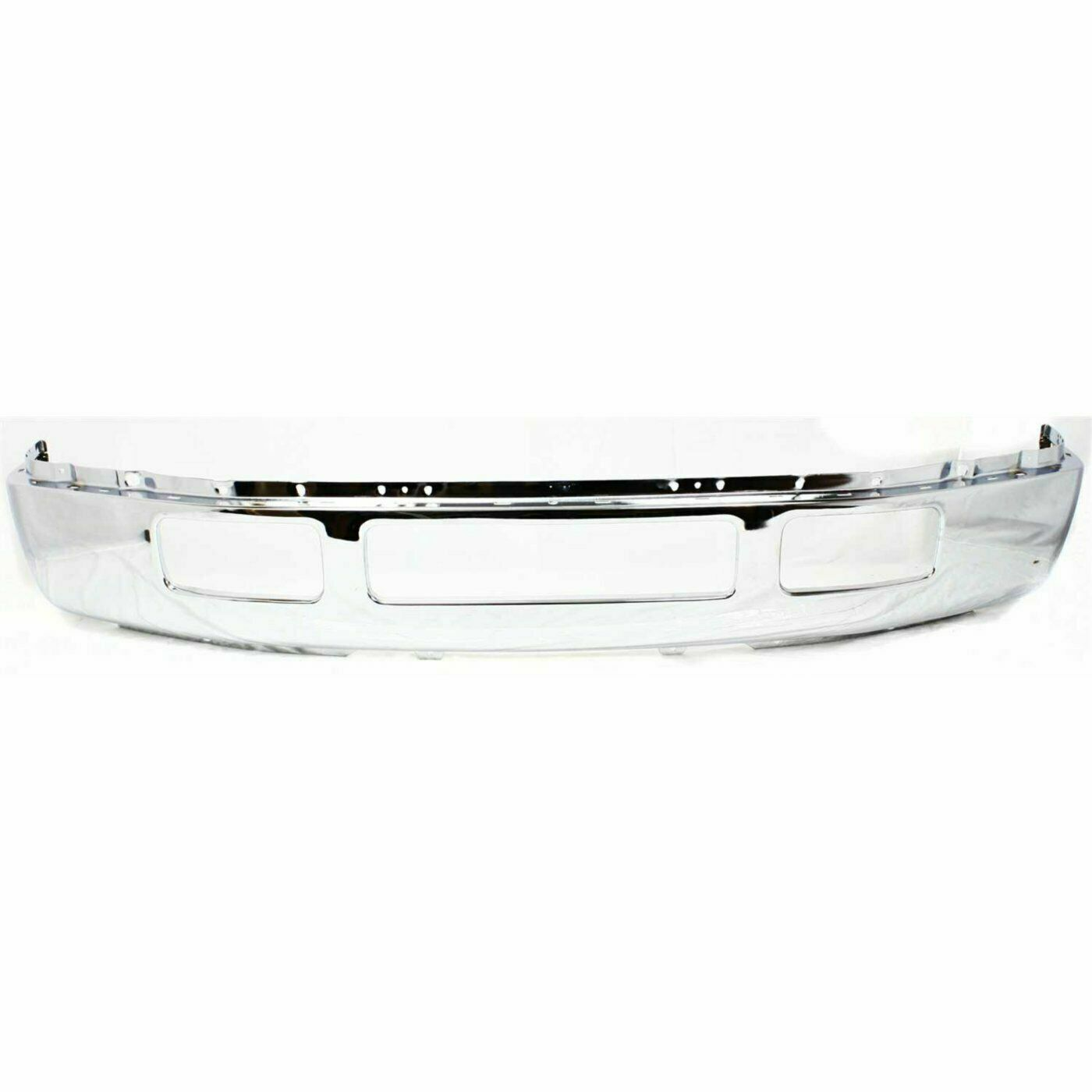 New Front Bumper Face Bar Chrome For 2005-2007 Ford Super Duty F-250 F-350 XLT//XL Cab /& Chassis /& Crew Cab Pickup Direct Replacement Lower Valance Panel Textured Upper Cover Primed