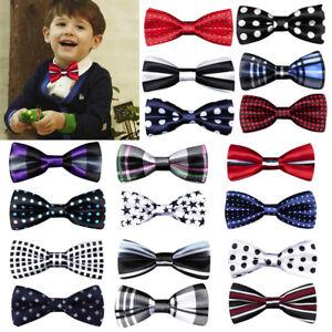 New-Fashion-Children-Kids-Boys-Toddler-Baby-Solid-Bowtie-Wedding-Bow-Tie-Necktie
