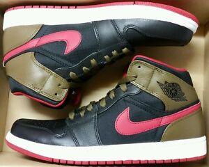 ebb051be4de528 Jordan 1 Phat Retro 10 OLIVE og royal bred black toe shattered ...