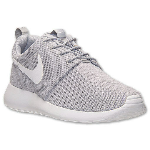 NEW Men's Nike Roshe Run One Wolf Grey / White Size 8.5 511881 023