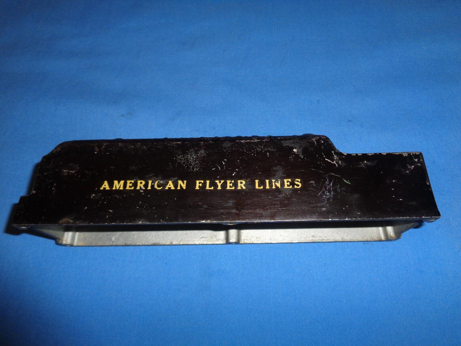 American Flyer Prewar O Gauge NYC Hudson Tender Shell for