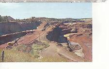 Typical Open Pit Iron Ore Mine  Mesabi Range  Minnesota   Chrome Postcard 1267