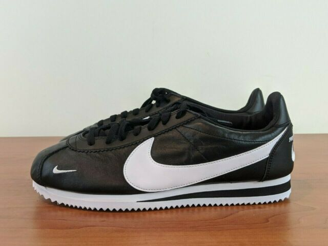Leather Black White Shoes 807480-004